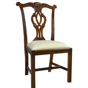 Groovy Lyre Side Or Harp Back Side Chair Traditional Dining Ncnpc Chair Design For Home Ncnpcorg