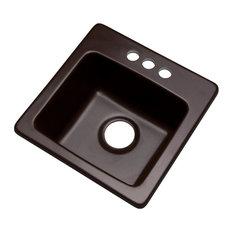 Westminster 3-Hole Bar Sink, Espresso