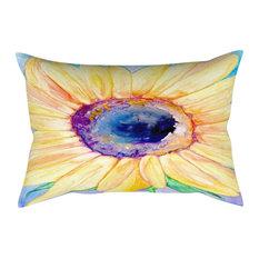 "Decorative Pillow Cover, Floral Sunflower, Floral, 12""x17"""
