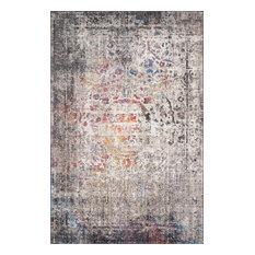 """Granite/Multi Medusa Rug, 7'10""""x10'6"""""""