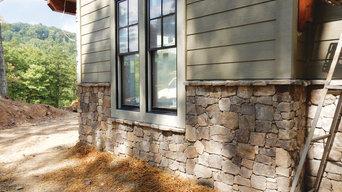 NC Veneer Stone Custom Home
