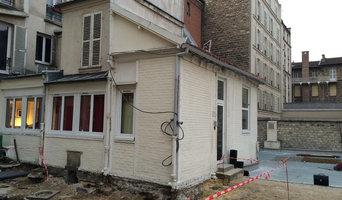 Etude de sol sur un bâtiment sur cour