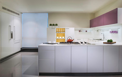 30 Kitchen Cabinets With Contrasting Colour Combinations