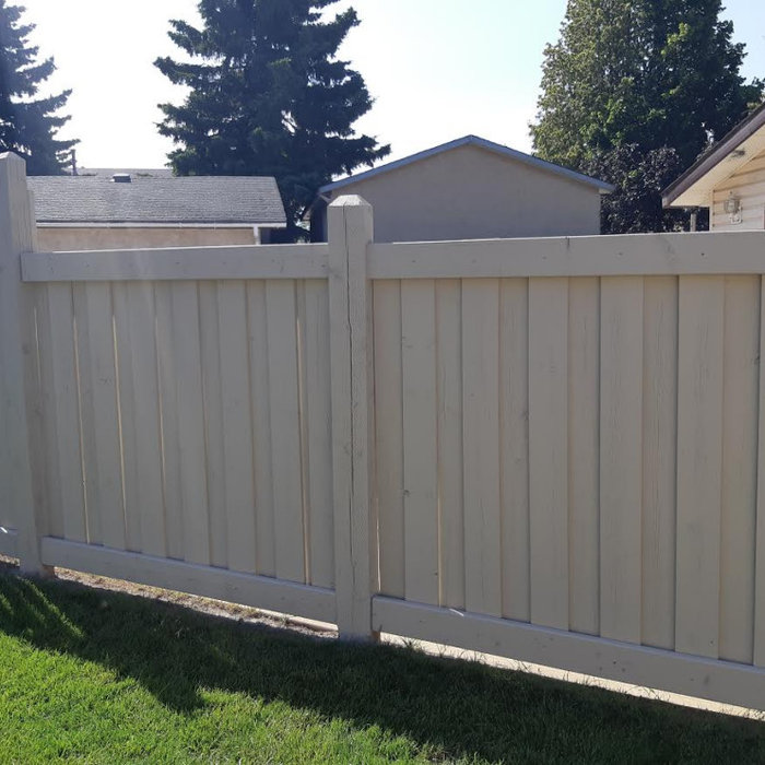 Exterior Painting Project - Fence/Deck