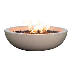 Propane Fueled Fire Bowl For Your Patio Table, Suffolk Tan