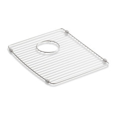 Kohler - Kohler Deerfield Bottom Sink Rack, Stainless Steel, Right - Kitchen Sink Accessories