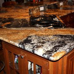 Amazing Magma Black Granite