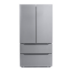 "Cosmo Appliances  36"" 22.5 cu. ft. 4-Door Counter-Depth French Door Refrigerator"