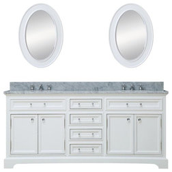 Transitional Bathroom Vanities And Sink Consoles by Water Creation