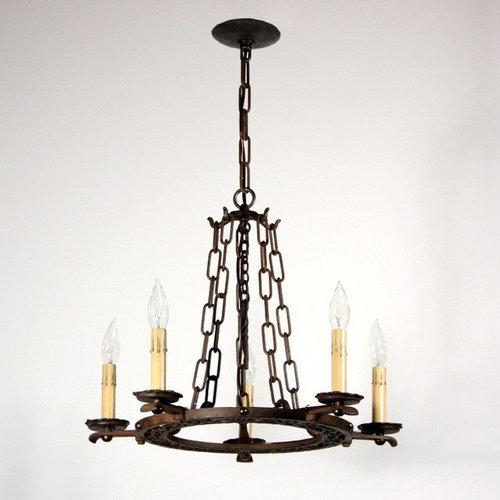 Antique Tudor Lighting   Chandeliers