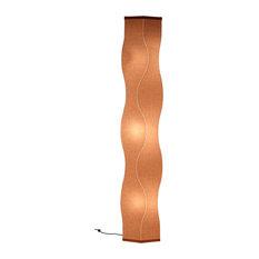 "Lumalight Floor Lamp, Stone Beige, 76"""