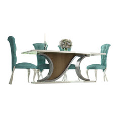Saphire L14 Dining Table Set 60.99-inch
