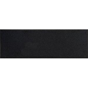 Easy Clean Black Doormat, Large