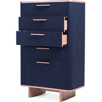 Ross Chest of Drawers, Dark Gray
