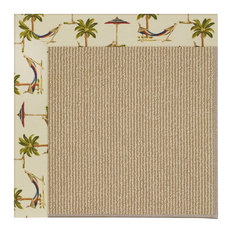 Capel Custom - Creative Concepts 1995 Border 1995 - 6ft 0in x 6ft 0in Sisal/Ways