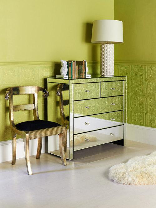 Contemporary Mirrored Furniture