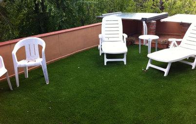 Aprende a colocar césped artificial en la terraza
