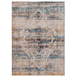 Butler Specialty Company - 8' x 10' Ultra-Soft Micro Polyester Artisan Old English Style Traditional Rug - Description: