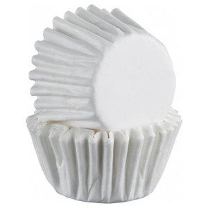 Mason Cash Mini Baking Cases, 75-Piece Set, White
