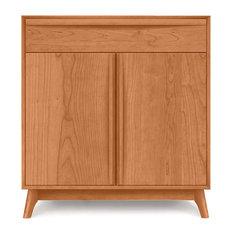 Catalina 1 Drawer 2 Door Buffet by Copeland Furniture, Natural Cherry