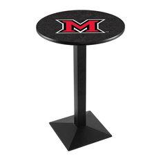 Miami OH Pub Table 36-inchx36-inch