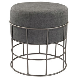 Industrial Footstools And Ottomans by Better Living Store