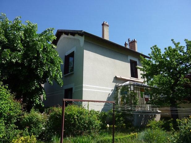Avant Après   Une extension colorée unit ancien et contemporain 4e4c43685e14
