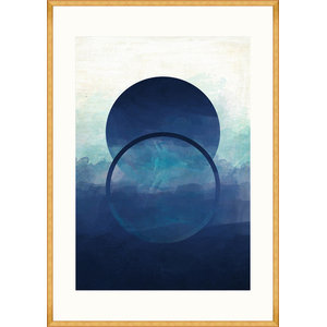 """""""Abstract Ombre I"""" Framed Wall Art by MindTheGap, 100x70 cm"""