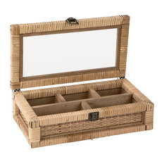 Natural Jewelry Box and Organizer