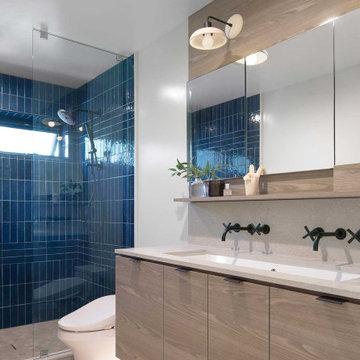 Contemporary Kitchen & Bath Renovation
