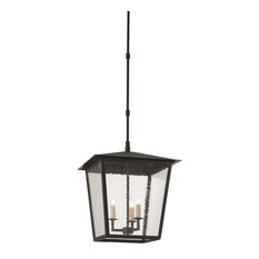Currey and Company 9500-0002 Bening - Three Light Outdoor Large Hanging Lantern