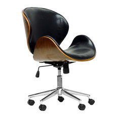 MOD - Stein Office Chair, Walnut and Black - Office Chairs