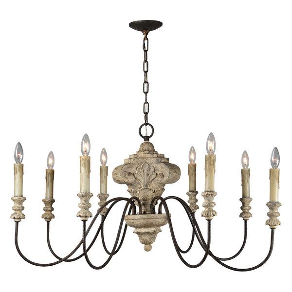 Cecilia Hurricane Chandelier | Glass chandelier shades