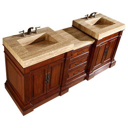 Trend Traditional Bathroom Vanities And Sink Consoles by Unique Online Furniture