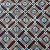 An example of our original, reclaimed and restored antique floor tiles