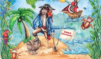 Pirate Themed Wallpaper Mural