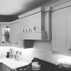 Painted Kitchen from our Modena Range Designed by Derek in our Newbridge Store - Products