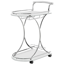 Contemporary Bar Carts by Coaster Fine Furniture