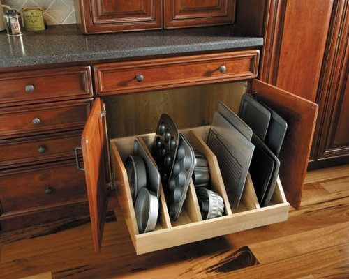 Baking Pan Storage | Houzz