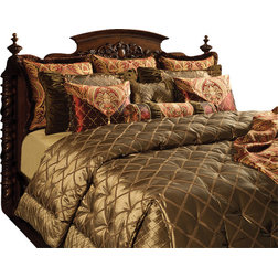 Fancy Traditional Comforters And Comforter Sets by K uR Interiors