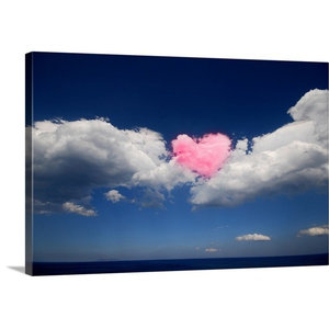 Love Is In The Air Floating Frame Canvas Art Contemporary Prints And Posters By Great Big Canvas