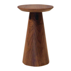 Mobital Usa Inc Tower End Table Walnut Small Side Tables And