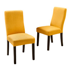 Fabric Dining Room Chairs contemporary dining room chairs | houzz
