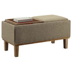 Transitional Footstools And Ottomans by Convenience Concepts