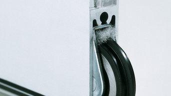 Detail Schiebetür