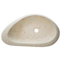 """Eviva Pebble Stone 24""""Vessel Sink"""