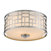 Elea Ceiling Flush Light by Z-Lite | 330F12-BN