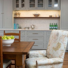 Farmhouse Kitchen And Living Room