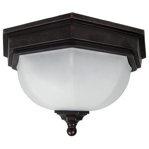 Fairford Outdoor Flush Ceiling Light