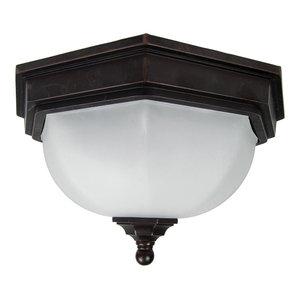 Fairford Outdoor Flush Ceiling Light